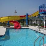 Our indoor / outdoor aquatic center is sure to please!