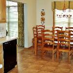 Full kitchens allow great meals to be cooked and enjoyed within the unit.