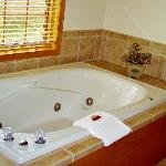Relax in one of our whirlpool tubs