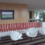 Club lounge with snooker table to relax and have a chat