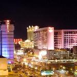 View of the Strip from Balcony