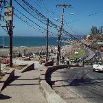 view from the hill outside Cariño Porteño