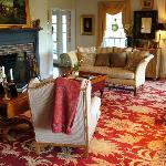 The Gathering Room - The Welsh Hills Inn - Granville Ohio Bed and Breakfast Inn