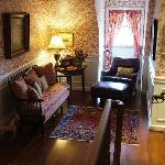 The Derwen Del Reading Room - The Welsh Hills Inn - Granville Ohio Bed & Breakfast