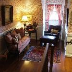 The Derwen Del Reading Room - The Welsh Hills Inn - Granville Ohio Bed & Breakfast