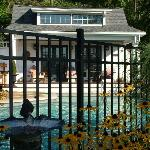 Heated Guest Pool at The Welsh Hills Inn - Granville Ohio Bed & Breakfast