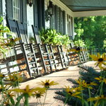 Expansive, Wrap-Around, Covered Porches Welcome You to The Welsh Hills Inn - Granville Ohio Inn