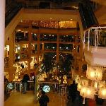 Interior of The Gallery at Harborplace