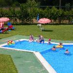 my family enjoying that wonderful pool