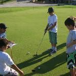 y golf tambien para los chicos
