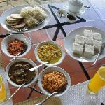Sri Lankan Breakfast-- try it, YUMMY