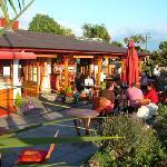 outside one world cafe