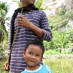 our great guide, Ikbal, and his son, Abdi