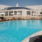 Hotel and main pool