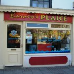 Barney's Plaice Store Front