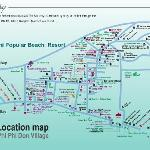 Map of Phi Phi