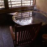 チェア付ひのき樽たる風呂