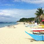 White Beach - a 15/20 minute bike ride from Sabang, great beach and great local food. lots of ve