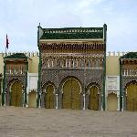 Prachtportal Königsplalast in Fes