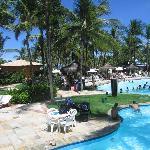 """main swimming pool and """"beach restaurant"""""""