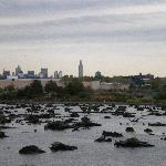 View of Manhattan from Mill Creek Marsh
