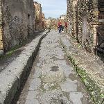 The streets of Pompeii.