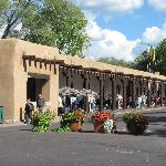 Palace of the Governors in Santa Fe, New Mexico.