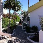 La Residence, Blick vom Pool