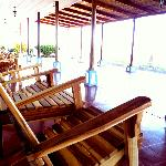 A place to relax in the balmy breezes of Lake Nicaragua.