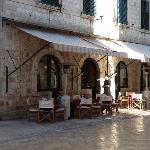 Terrace of Cafe Festival Dubrovnik