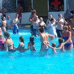 dance in pool