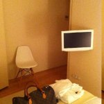 A suite simples e aconchegante