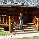 DANIELA OUTSIDE CLIENTS CABIN