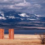 Canyon Ferry Silos (east of Helena, Montana)