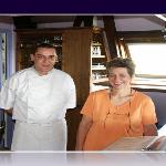 Andrée MATHIEU et Alain Schmitt le Chef Cuisinier