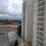 Vista da janelo do sexto andar