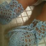 Mundillo Lace Baby Booties - Want Some? Ask Mokay! He Knows Mundillo Artists!
