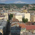 Blick auf Sarajevo 1