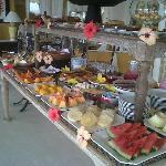 Desayuno continental en Vila D´este