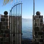 View of Lake Atitlan from Casa Lobo's gate