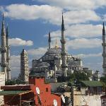 Blue Mosque from the roof of Blue Hills