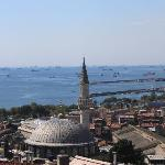Sea of Marmara from the roof of Blue Hills