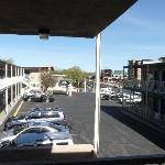 Motelparkplatz