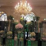 The lobby of the George V