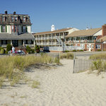 The Stockton Inns from the Beach