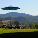 A Tuscan Panorama : Our Position Gives 360 Degree Views including Hills, Hill Towns & Farms