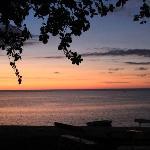 Le coucher de soleil ...