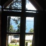 vista desde la habitación del bungalow