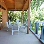 Covered River View Decks