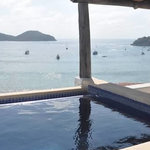 View of Zihuatanejo from Room 6 Jacuzzi